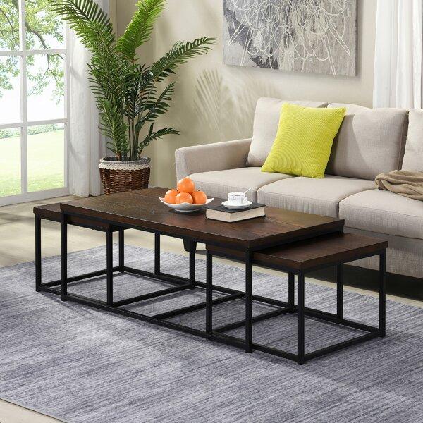 Reimund 3 Piece Coffee Table Set by Latitude Run Latitude Run