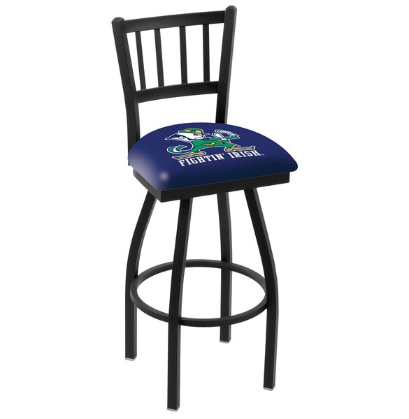 NCAA 44 Swivel Bar Stool by Holland Bar Stool