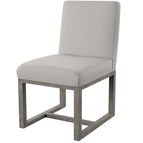 Maskell Upholstered Side Chair in Charcoal (Set of 2) by Mercury Row Mercury Row