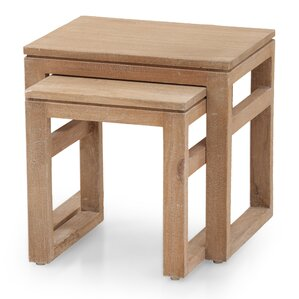 2 Piece Nesting Tables by The Urban Port