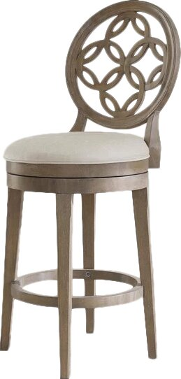 Mousseau 26 Swivel Bar Stool by One Allium Way