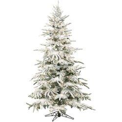 Fraser Hill Farm Mountain Pine 7.5' Green Artificial Christmas ...