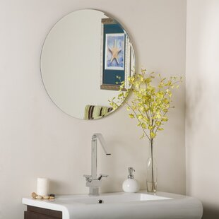 Reviews Frameless Liam Wall Mirror ByDecor Wonderland