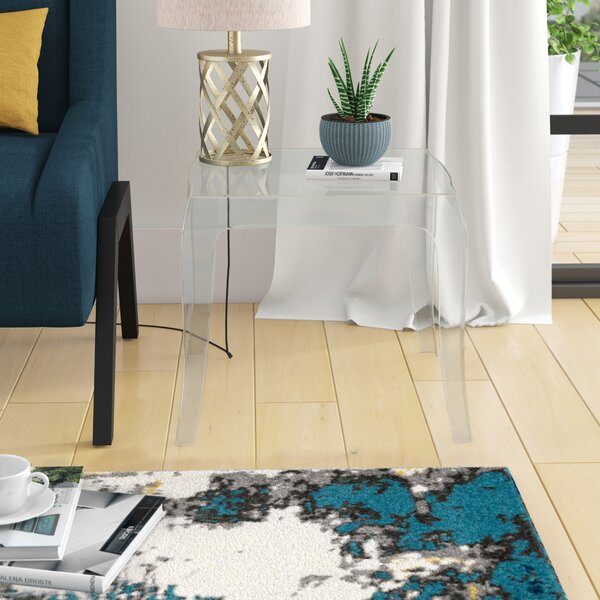 Elinn Queen End Table By Ivy Bronx