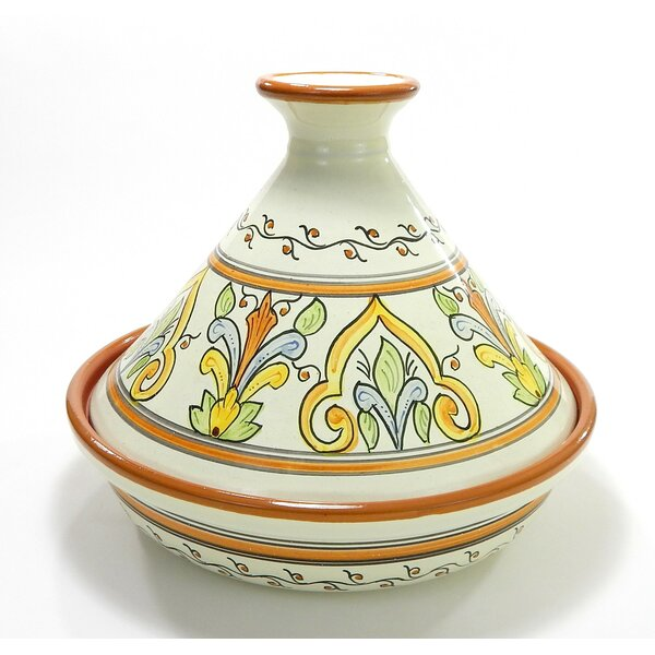 Salvena 1.5 Qt. Ceramic Round Tagine by Le Souk Ceramique