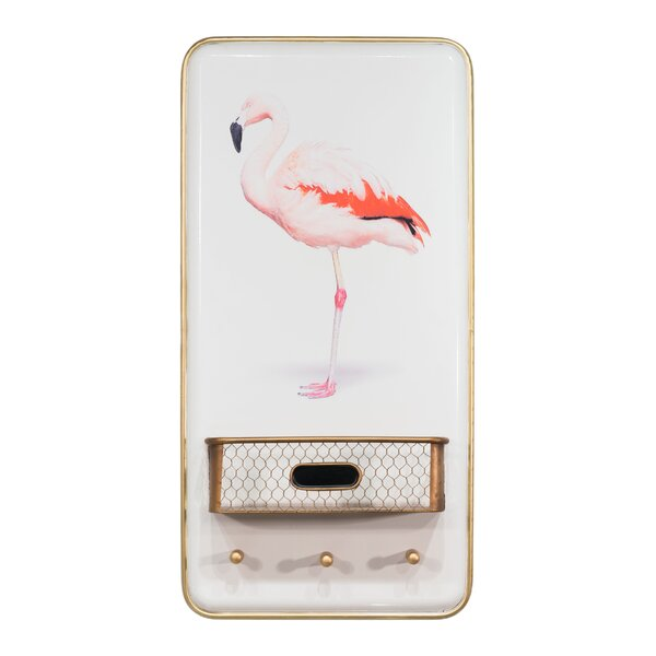 Flamingo Wall Decor by Langley Street