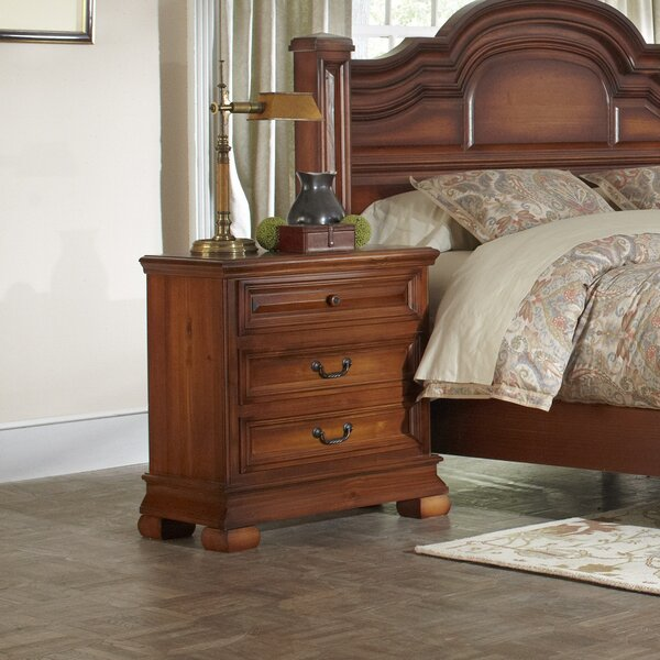 Nottingham 3 Drawer Bachelors Chest by Wildon Home®