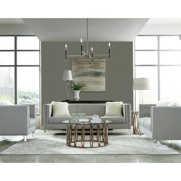 Huitt 3 Piece Living Room Set by Orren Ellis