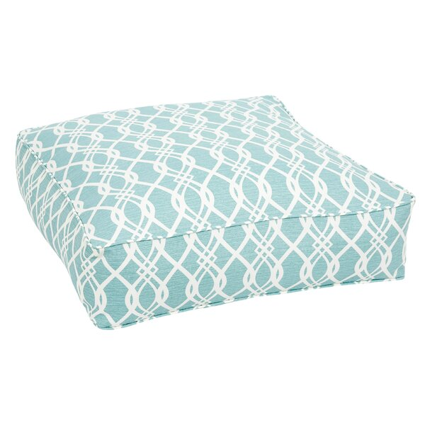 Brookwood Indoor/Outdoor Floor pillow by Rosecliff Heights