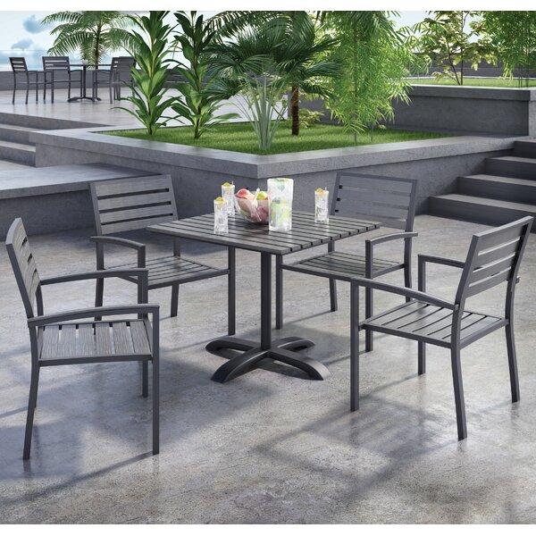 Eveleen 5 Piece Dining Set by KFI Seating