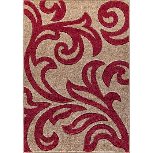 Christi Beige/Red Rug Zipcode Design Rug Size: Runner 60 x 2
