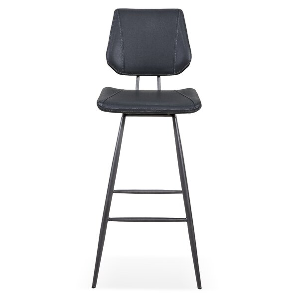 Loganville 30 Swivel Bar Stool (Set of 2) by Latitude Run
