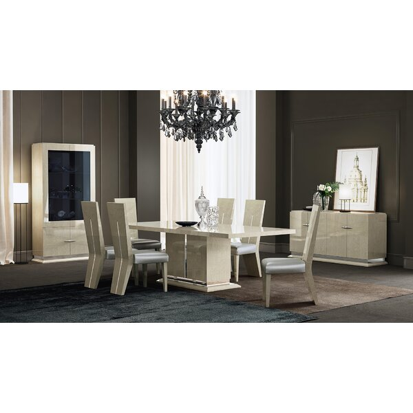 7 Piece Dining Set by Orren Ellis