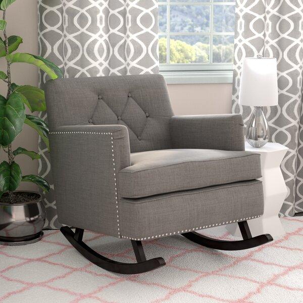 Wellington Rocking Chair By Viv + Rae
