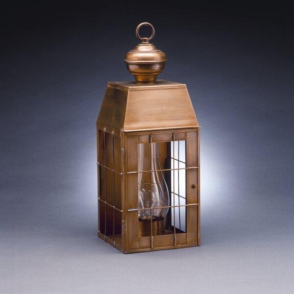 Woodcliffe 2-Light Outdoor Flush Mount by Northeast Lantern