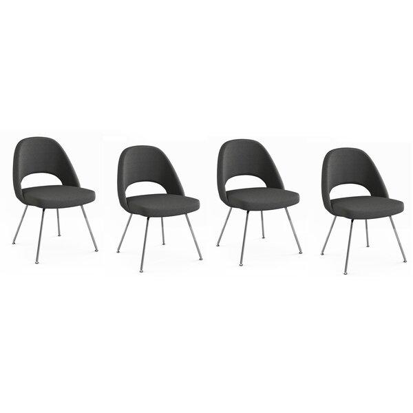 Port Chester Upholstered Dining Chair (Set of 4) by Orren Ellis