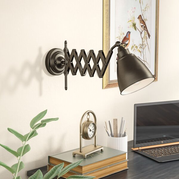 Styers Swing Arm Lamp by Three Posts