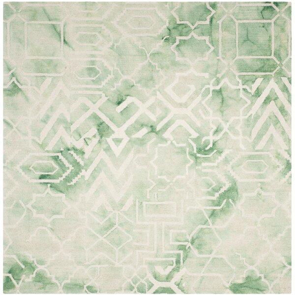 Landry Hand-Tufted Green/Ivory Area Rug by Mistana