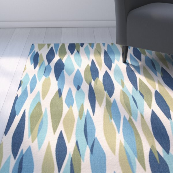 Gloria Blue Area Rug By Zipcode Design