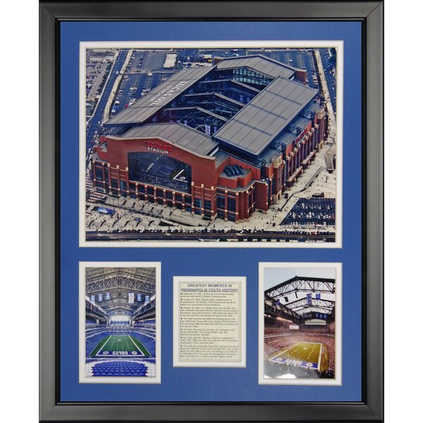 NFL Indianapolis Colts - Lucas Oil Framed Memorabili by Legends Never Die
