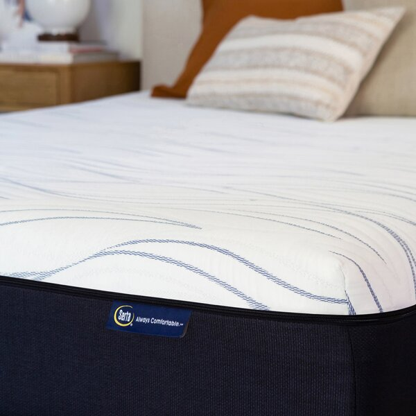 @ Perfect Sleeper 12 Medium Gel Memory Foam Mattress by Serta| #$0.00!