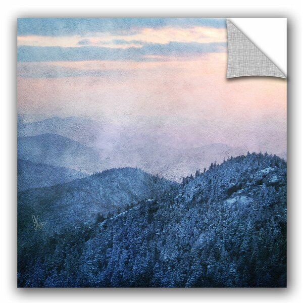 Willowridge Blue Ridge Cliffs Wall Decal by Loon Peak