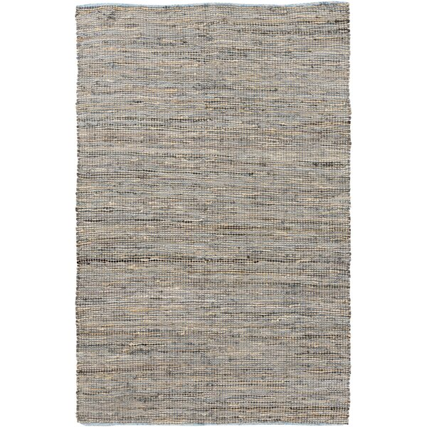 Lorna Handwoven Taupe Area Rug by Beachcrest Home