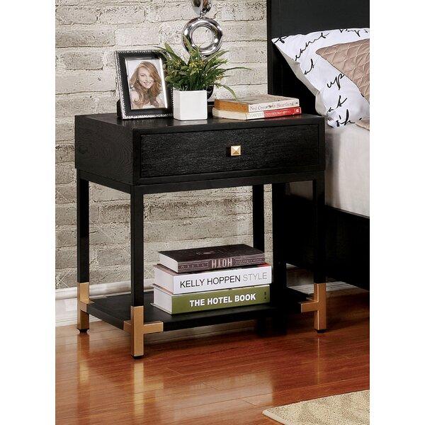 Heger 1 Drawer Nightstand by Mercer41