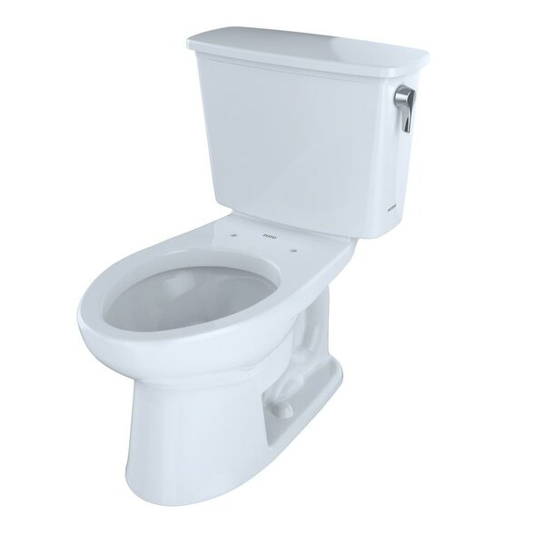 Eco Drake® Transitional Dual Flush Elongated Two-Piece Toilet by Toto