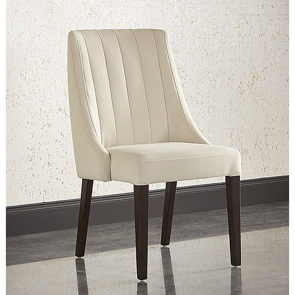 Bellario Upholstered Dining Chair by Latitude Run Latitude Run
