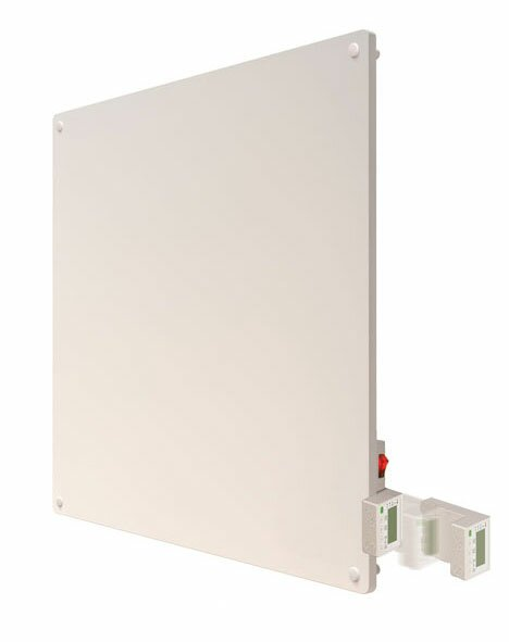 400 Watt Wall Mounted Electric Convection Panel Heater with Programmable Thermostat by Econo-Heat