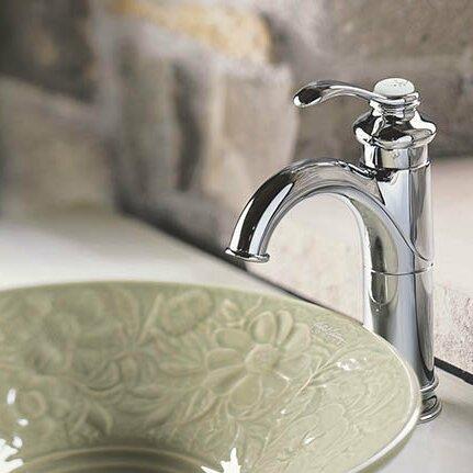 Fairfax Single hole Bathroom Faucet with Drain Assembly by Kohler