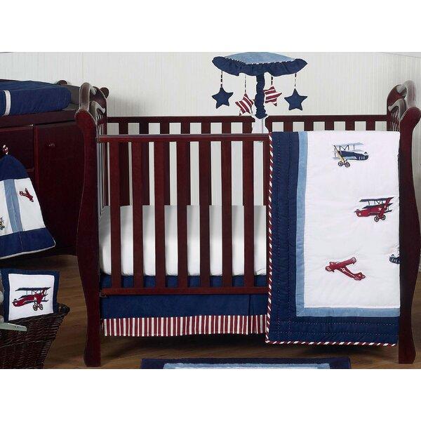 Vintage Aviator 11 Piece Crib Bedding Set by Sweet Jojo Designs