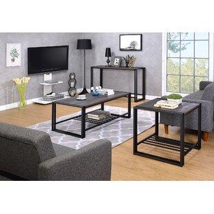 Best Choices Fogg 3 Piece Coffee Table Set ByIvy Bronx