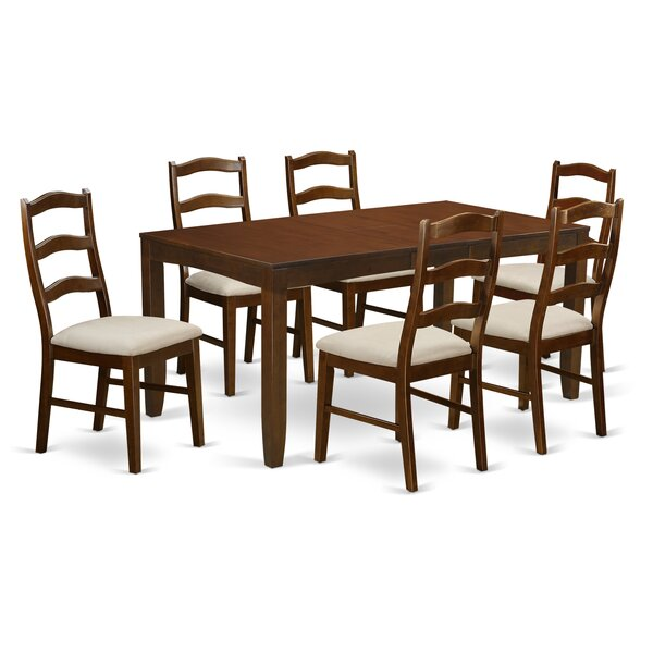 Amazing Lynfield 7 Piece Dining Set By East West Furniture Great price