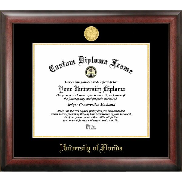 NCAA Florida University Diploma Picture Frame by Campus Images