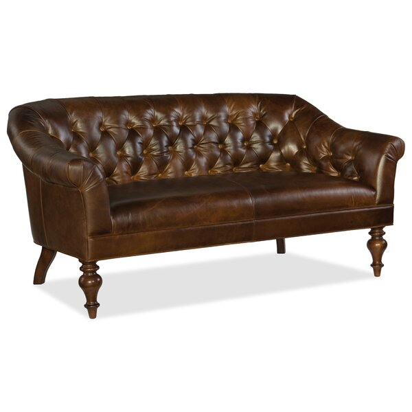 Frasier Settee Chesterfield Sofas by Hooker Furniture