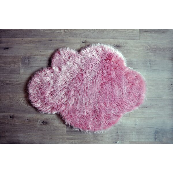 Cloud Pink Area Rug by Kroma Carpets