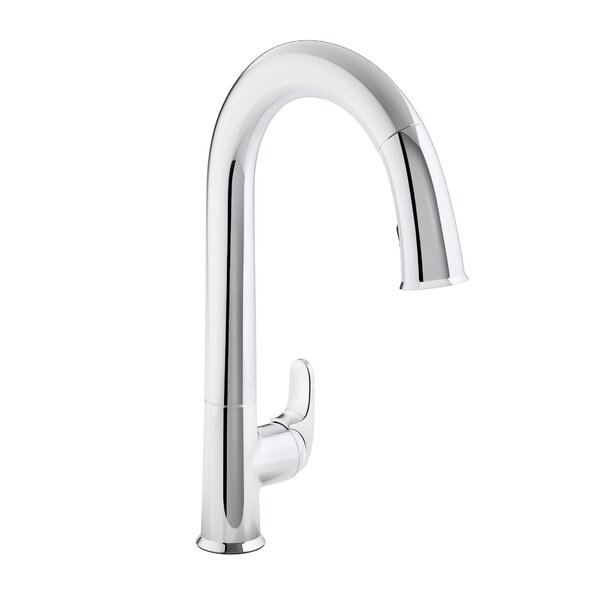 Sensate Touchless Kitchen Faucet with 15-1/2 Pull-Down Spout, Docknetik Magnetic Docking System, ProMotion™, MasterClean™ by Kohler