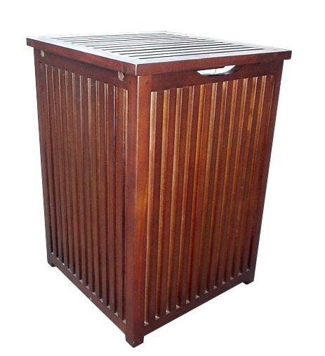 D-Art Collection Colonial Cabinet Laundry Hamper & Reviews   Wayfair