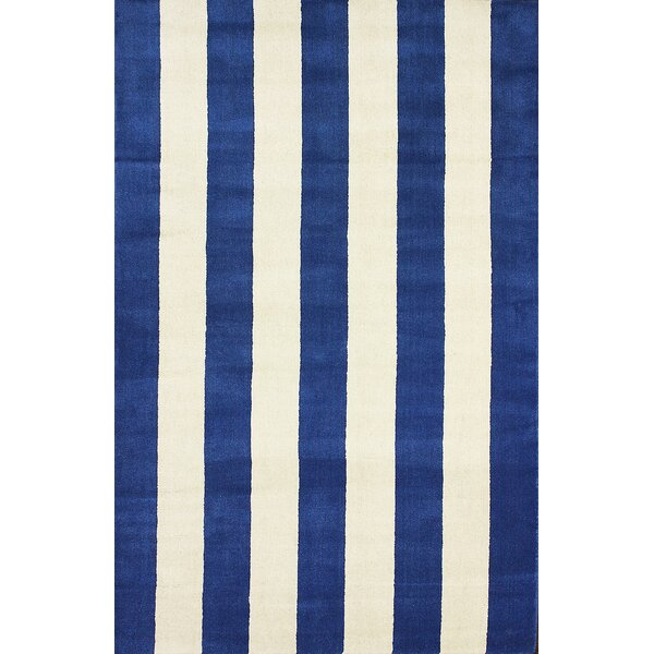 San Miguel Blue Dasher Rug by nuLOOM