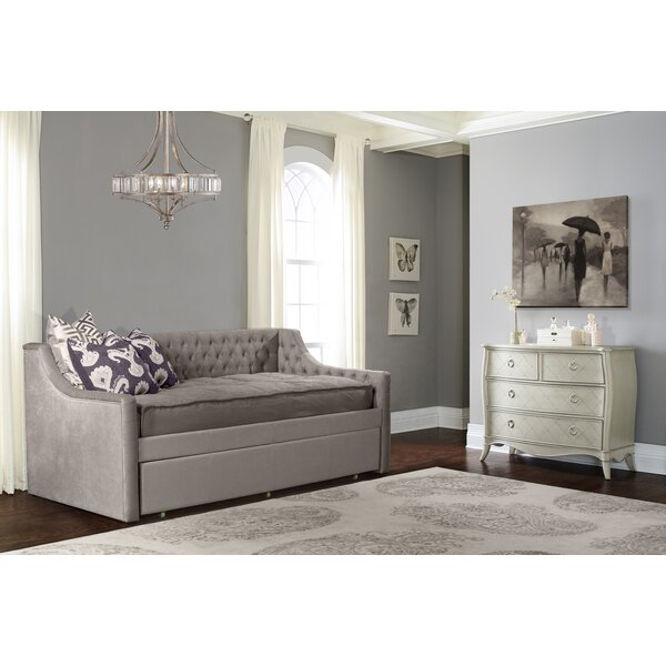 Klaus Jaylen Twin Daybed with Trundle by Winston Porter