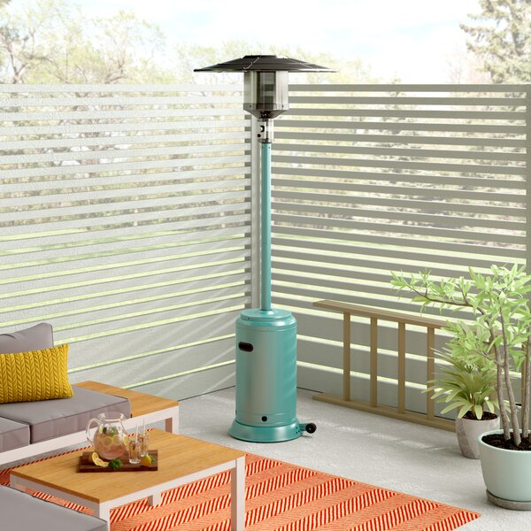 Lamarr 46,000 BTU Propane Patio Heater by Mercury Row