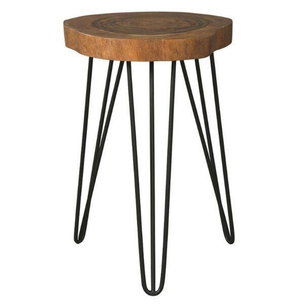 Media Wooden Top End Table by Foundry Select