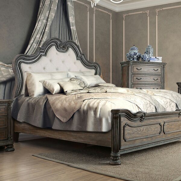 Dugan Upholstered Standard Bed by Canora Grey