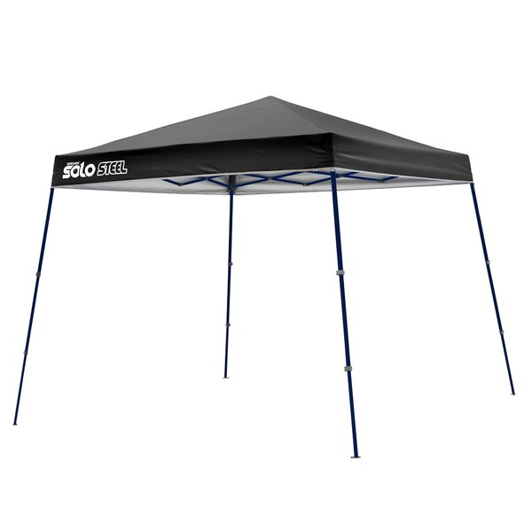 Solo 9 Ft. W x 9 Ft. D Steel Pop-Up Canopy by QuikShade
