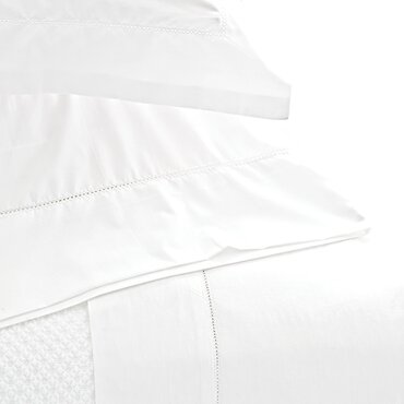 classic hemstitch 400 thread count 100 cotton sheet set