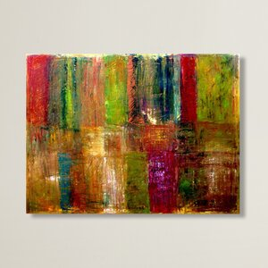 'Abstract' Print Painting on Wrapped Canvas by Trademark Fine Art