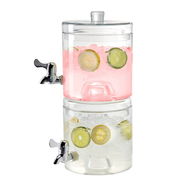 Rayden Stacking Beverage Dispenser Set (Set of 2) by Winston Porter