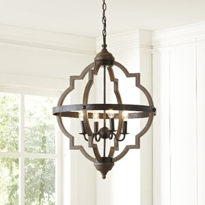 Bennington Candle-Style Chandelier